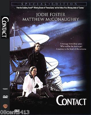 Contact (Special Edition Widescreen DVD) Jodie Foster, Matthew McConaughey