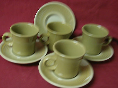#Franciscan, USA China Dinnerware #Pebble Beach set 4 cup and saucer