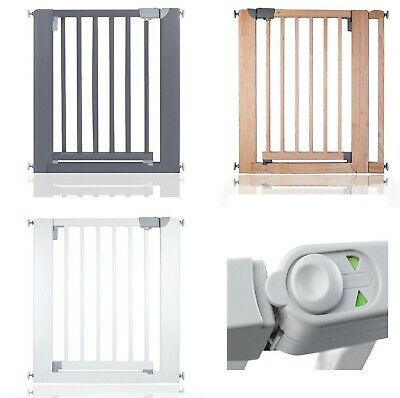 Dreambaby Hallway Wide Baby Gate Pressure Fit Stair Gate White Guard 97-308cm