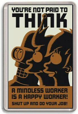Futurama Fridge Magnet 01