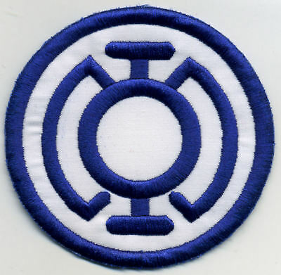 """3.5"""" Blue Lantern Corps Classic Style Embroidered Patch"""