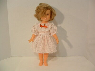 """ideal 1972 shirley temple st 14 b 36 doll is in good shape. 16"""" tall."""