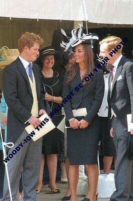 """mm695- Catherine Middleton & Prince Harry -Garter procession in 2008 -photo 6x4"""""""