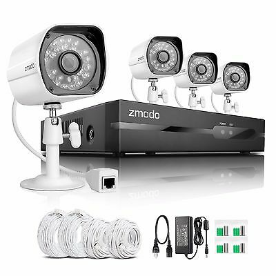 Funlux® 720P HD Outdoor Indoor IP Network Security Camera System No Hard Drive