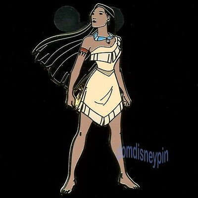 Disney Pin *Pocahontas* Character Collection - Pocahontas Standing in the Wind!