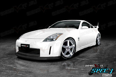 NISSAN 350Z DRIFT body kit bodykit FRONT bumper LIP BLACK