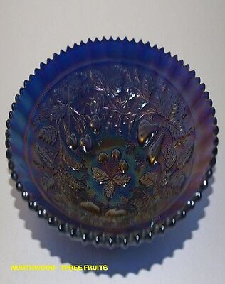Northwood Three Fruits - Plate - Electric Blue