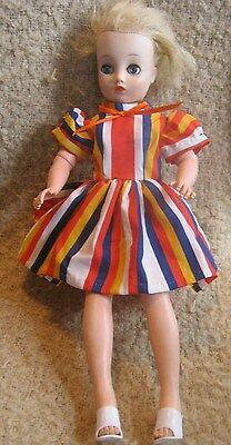 "Vintage 1950's Horsman Cindy Fashion Doll ~ 18"" High Heel Bendable Legs ~ Outfit"