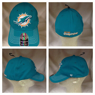 detailed look 40622 083ce ... coupon code for nfl miami dolphins game time 47 closer 47 brand stretch  fit hat mvp