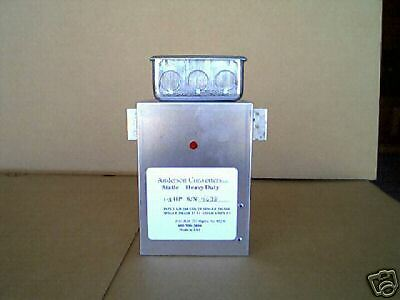 NEW   Static Phase Converter 1-3 Heavy Duty  ON SALE !   mill  lathe