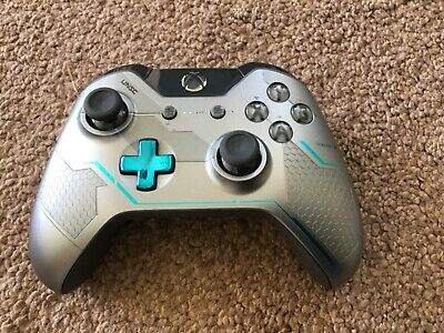 Official Xbox One White Wireless Controller, Bluetooth 3.5Mm Microsoft