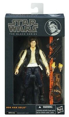 "Star Wars Black Series Han Solo Wave 2 6"" Action Figure"