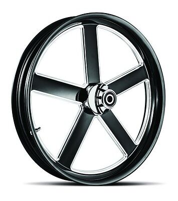 """Dna """"victory"""" Contrast Cut Forged Billet 21"""" X 3.25"""" Front Wheel Harley Touring"""