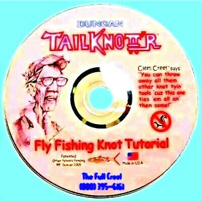 Duncan DVD for TailKnott'r - The High Quality Knot Tying Tool Ties 35+ Knots!