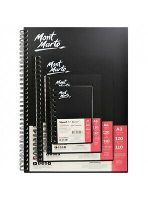 Mont Marte Visual Art Diary A5 120 Page - MSB0004