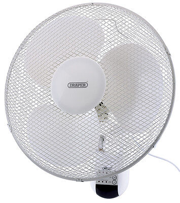"Draper 75098 16"" Remote Controlled Fan"