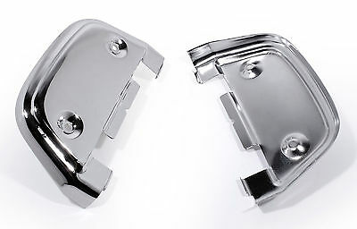 Chrom Trittbrettcover f. Harley Davidson FLT E-Glide Road King Heritage Twin Cam