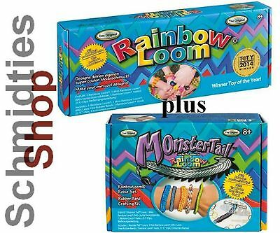 Rainbow Loom® Original Starter Set & Monster Tail   (mit Deutscher Anleitung)