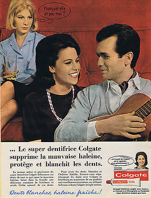 Publicite Advertising 034 1959 Colgate Dentifrice Phosphaté Be Novel In Design Other Breweriana