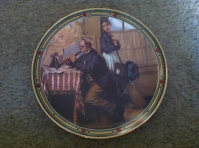 Knowles collector plate The Musician's Magic Norman Rockwell American Dream