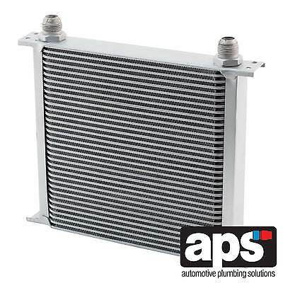 "APS Gearbox / Diff / Engine Oil Cooler 34 Row 235mm 1/2"" BSP Male Fittings"