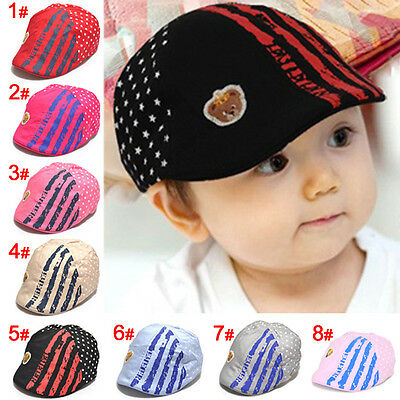 Unisex Beanie Hat for NewBorn Cute Baby Boy/Girl Soft Toddler Infant Peak Cap