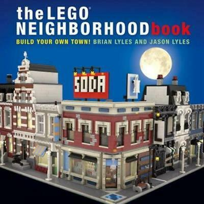 Lego Neighborhood Book by Brian Lyles (English) Hardcover Book Free Shipping!