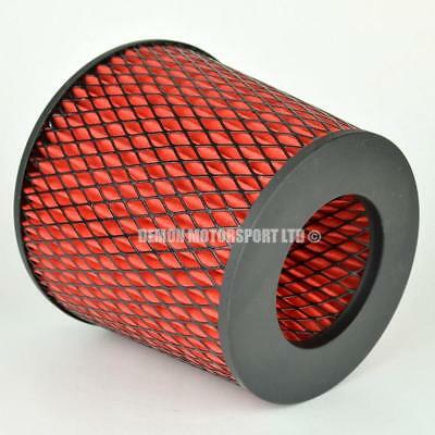 CLEARANCE Air Filter Red For Induction Kit 102mm or Choose Inlet Size (35918)