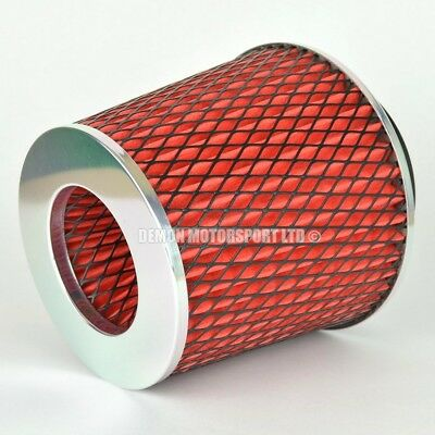 CLEARANCE Air Filter Red For Induction Kit 76mm or Choose Inlet Size (59893)