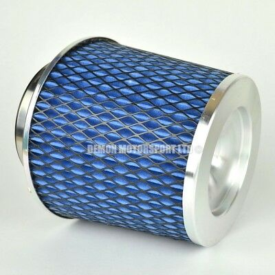 CLEARANCE Air Filter Blue For Induction Kit 63mm or Choose Inlet Size (59886)