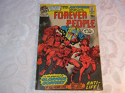 Forever People No.3 July Dc Comic Vintage    T*