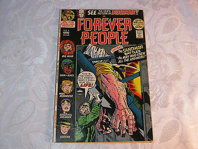 Forever People No.9 July Comic Vintage    T*