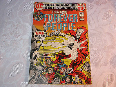 Forever People No.10 Sept Comic Vintage    T*