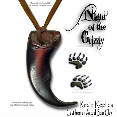 BEAR - RUGGED GRIZZLY CLAW NECKLACE for MALE ~ FEMALE - JEWELRY GIFT SALE  #6*