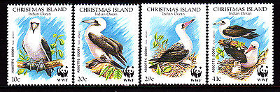 1990 Christmas Island Abbots Booby - MUH Complete Set