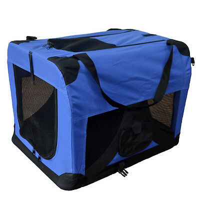 Hundetransportbox faltbare Hundebox Transportbox Autotransportbox Faltbox NEU S