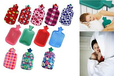 2L Hot Water Bags With Fleece Cover (Available In Multiple Colours)