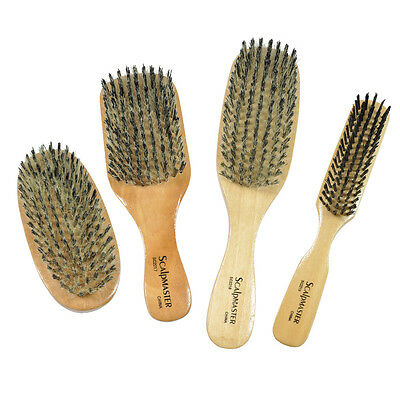 Scalpmaster Reinforced Boar Bristles Hair Brush *Chose any one*