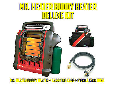Mr. Heater MH9BX Indoor Portable Propane Heater Deluxe Kit