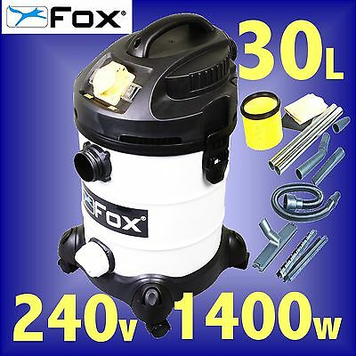 FOX F50-800 240v Wet or Dry Vacuum Cleaner / Dust Extractor extraction 3Yr Gtee