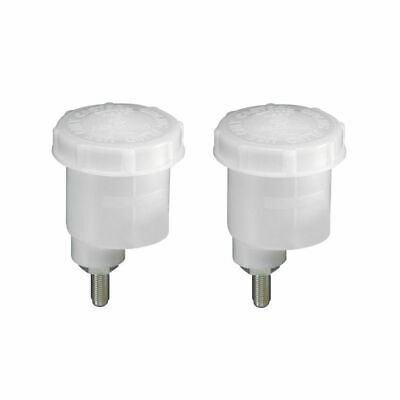 2 x Girling Type Brake/Clutch Fluid Reservoir 60mm Diameter 76mm High