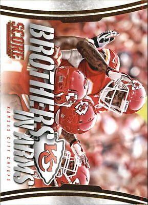 2014 Score Brothers In Arms Gold #BA16 Kansas City Chiefs/Dwayne Bowe - NM-MT