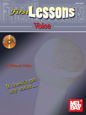First Lessons Voice - Vocal Method Book/cd