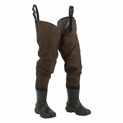 ** NEW Hodgman Redstone waterproof breathable cleated boot HIP WADERS  SIZE 7