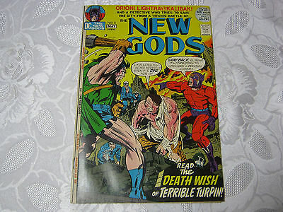 THE NEW GODS NO.8  MAy  DC COMIC VINTAGE    T*
