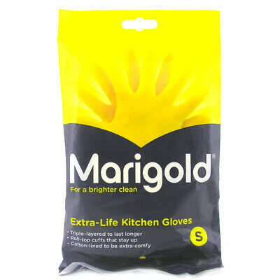Marigold Extra-Life Kitchen Cleaning Gloves - Choice of Sizes - One Supplied