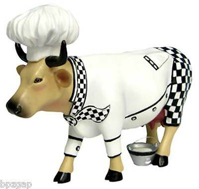 Cows on Parade Chef Cow Figurine #47790