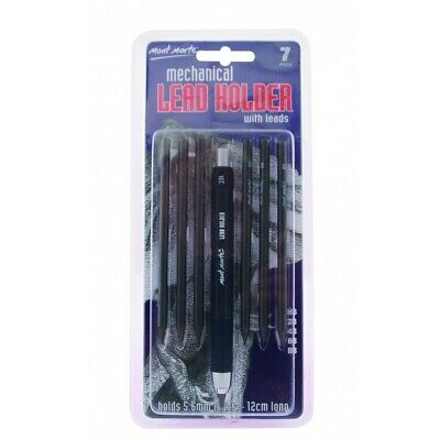 Mont Marte Mechanical Leadholder with 6 Leads