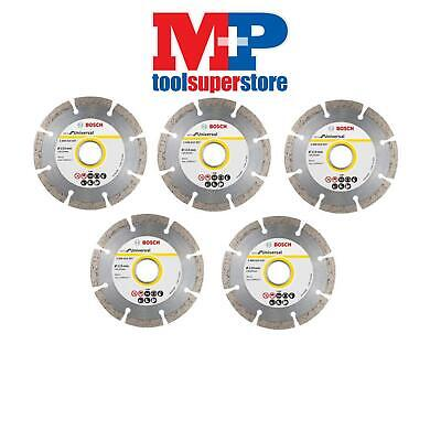 Bosch 2608602792 Angle Grinder Diamond Cutting Disc 115Mm **pack Of 5**