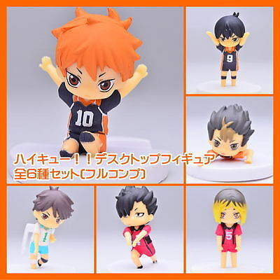 Takara Tomy Haikyuu!! High Kyuu!! Haikyuu Desktop Mini Figure Set of 6